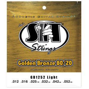 SIT Strings Golden Bronze 80/20 Light 12-52