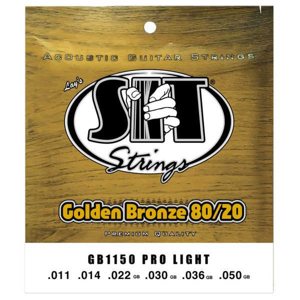 SIT Strings Golden Bronze 80/20 Pro Light 11-50