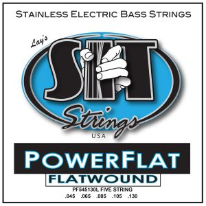 SIT Strings Power Flat Bass 5-Str. Light 45-130
