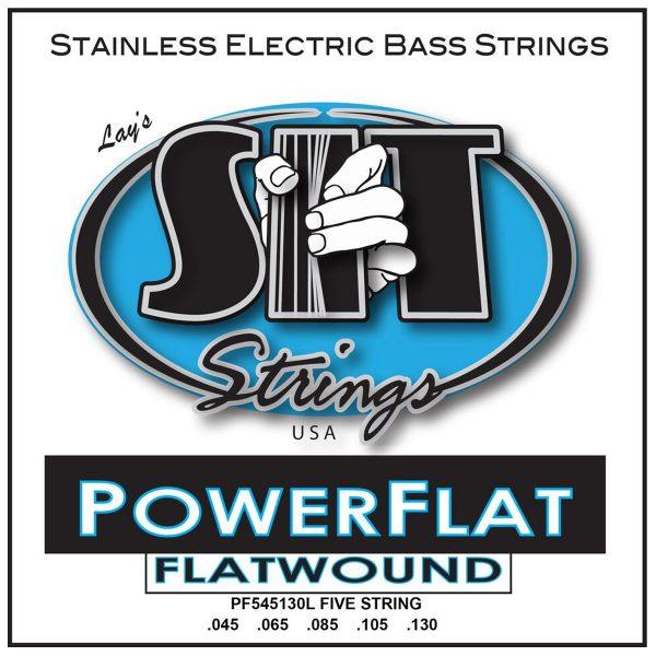 SIT Strings Power Flat Bass 5-Str. Light 45-130