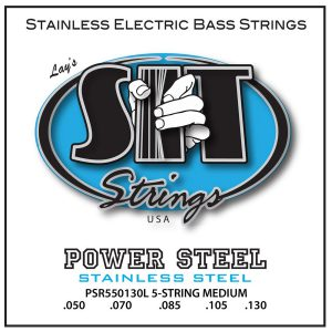 SIT Strings Power Steel Bass 5 Str. Medium 50-130