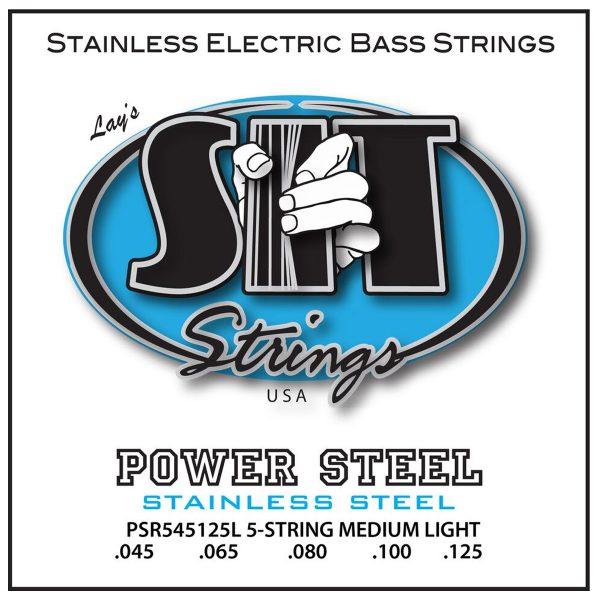 SIT Strings Power Steel Bass 5 Str. Light 45-125