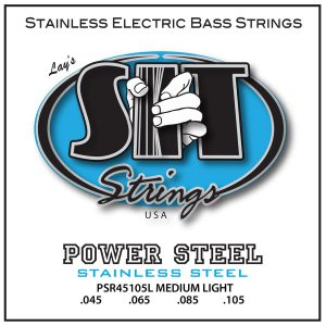 SIT Strings Power Steel Bass Medium-Light 45-105