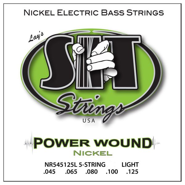 SIT Strings Power Wound Nickel Bass 5 Str. Light 45-125