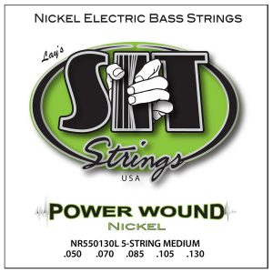 SIT Strings Power Wound Nickel Bass 5 Str. Medium 50-130