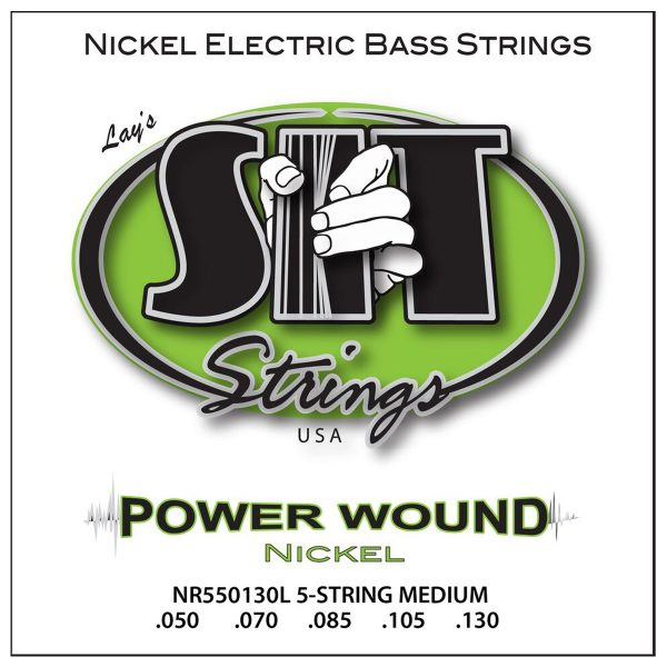 SIT Strings Power Wound Nickel Bass 5 Str. Medium 50-130