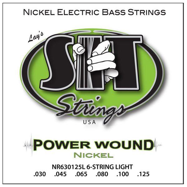 SIT Strings Power Wound Nickel Bass 6 Str. Light 30-125