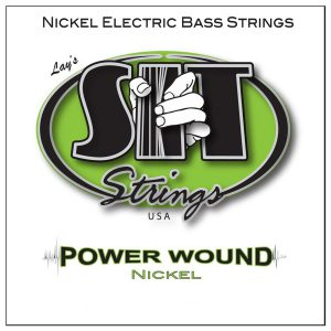 SIT Strings Power Wound Nickel Bass Custom Light 40-100