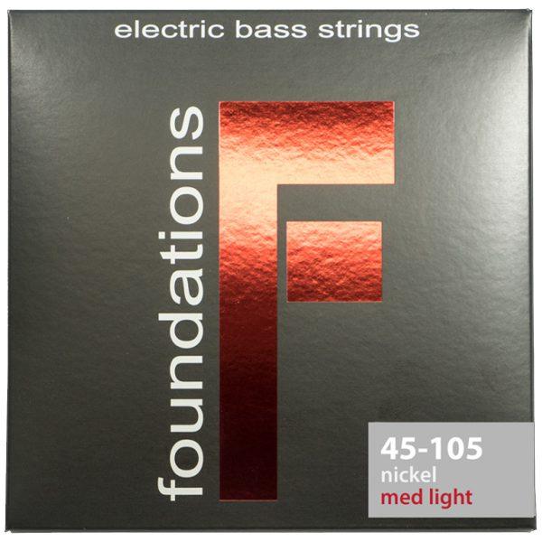 SIT strings Foundations Bass Nickel Medium-Light 45-105
