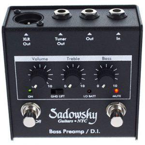 Sadowsky Bass Preamp/D.I.