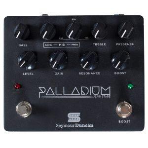 Seymour Duncan Palladium Gain Stage Pedal, Black