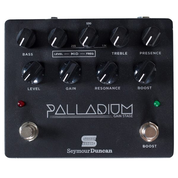 Seymour Duncan Palladium Gain Stage Pedal, Black