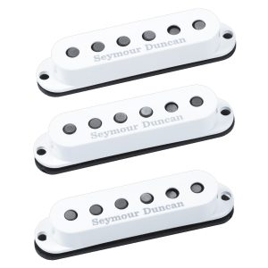 Seymour Duncan SSL-5 Custom Staggered Strat Calibrated Set - White