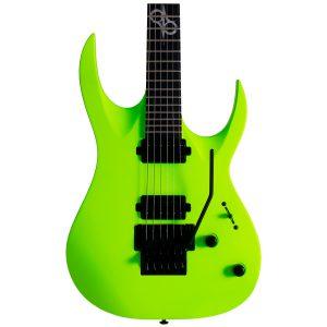 Solar Guitars A2.6FRLN Lemon Neon Matte Mahogany