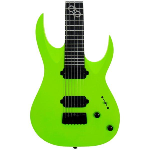 Solar Guitars A2.7LN Lemon Neon Matte Mahogany