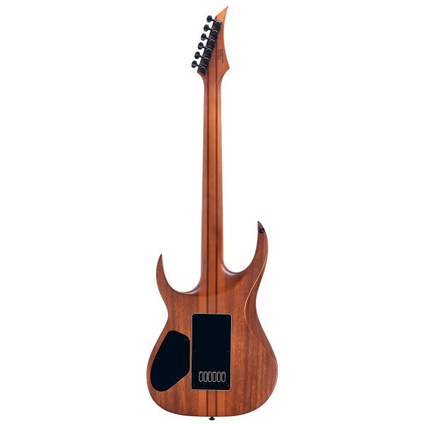 Solar Guitars S1.6PB Poplar Burst Matte Mahogany + Poplar Burl