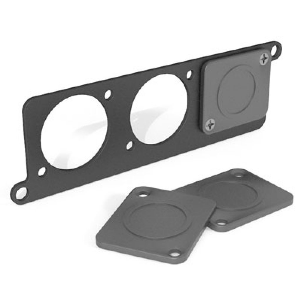 Temple Audio Mini Module Punched Plate