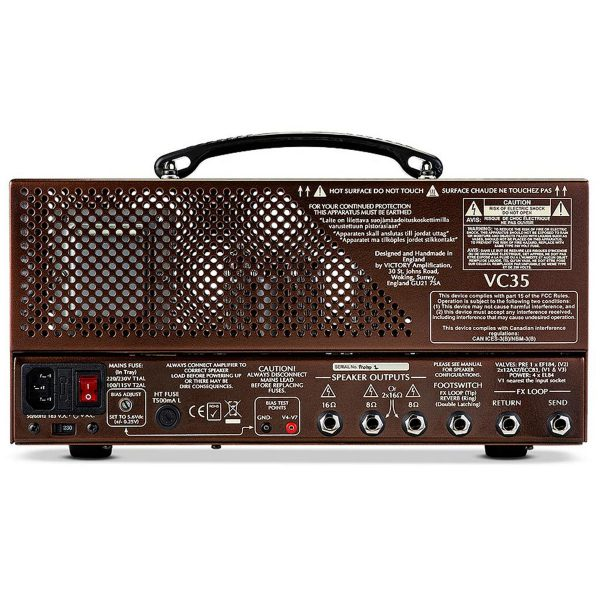 Victory Amplification VC35 The Copper