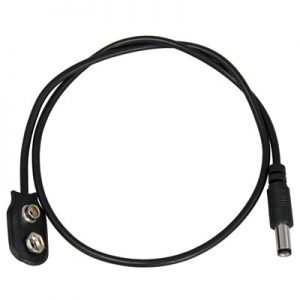 Voodoo Lab 2.1mm 9V Battery Snap S Cable