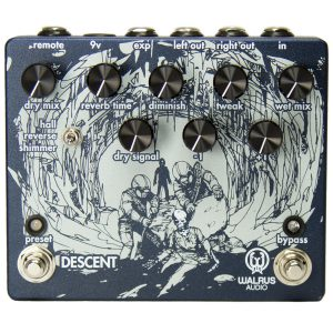 Walrus Audio Descent Reverb/Octave Machine