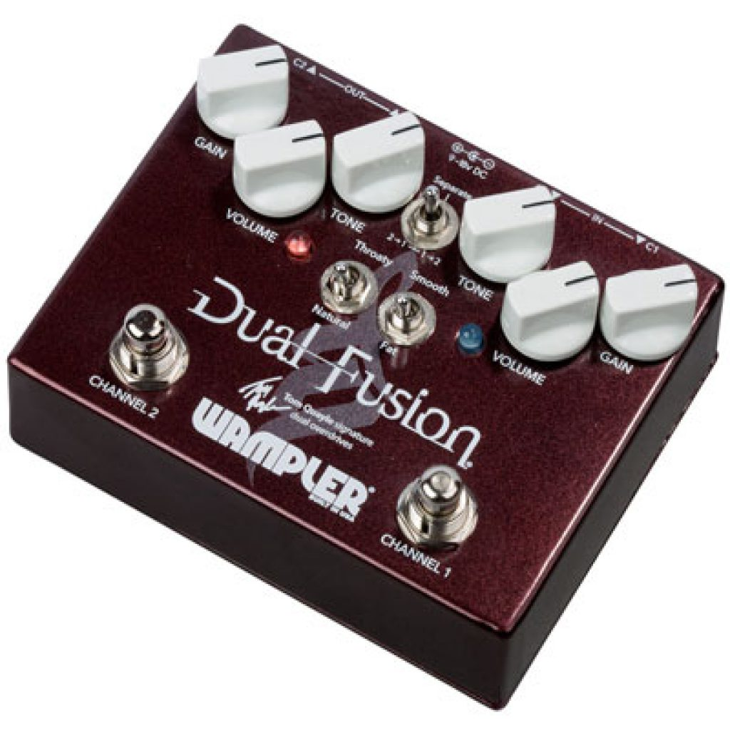Wampler Pedals Dual Fusion Overdrive Pedal