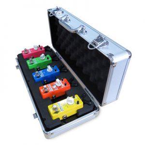 Xvive F1 Flight Case Mini Pedalboard