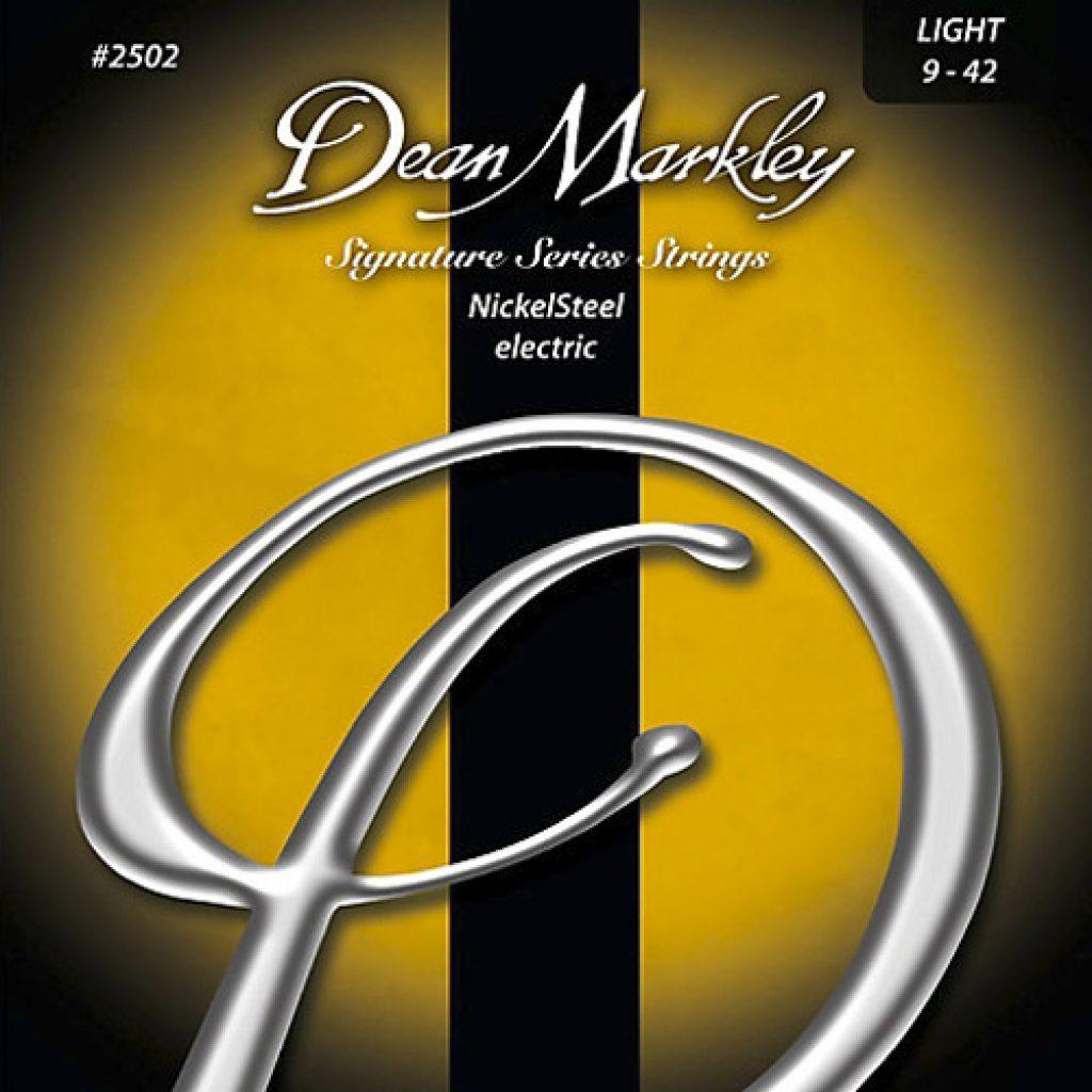Dean Markley 2502 Nickel Steel Electric Light 9-42