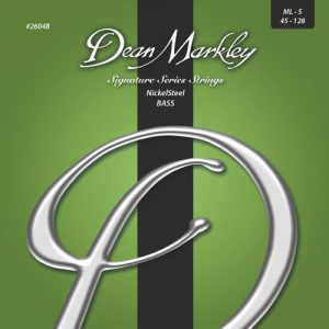 Dean Markley 2604B Nickel Steel Bass Medium Light 45-128