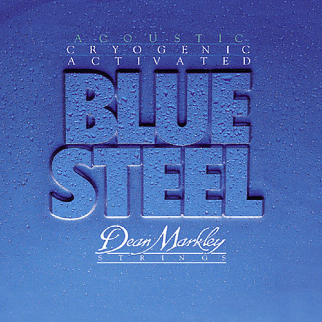 Dean Markley 2038 Blue Steel Acoustic Medium 13-56
