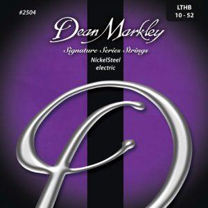 Dean Markley 2504 Nickel Steel Electric Light Top Heavy Bottom 10-52