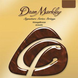 Dean Markley 2004 Vintage Bronze Acoustic Medium Light 12-54