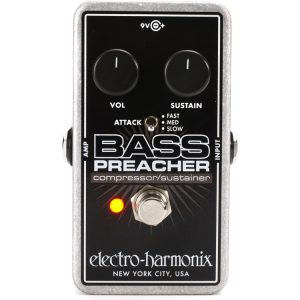 Electro-Harmonix Bass Preacher Bass Compressor
