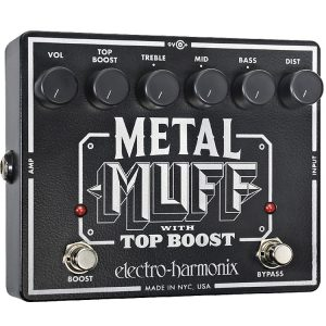 Electro-Harmonix Metal Muff With Top Boost