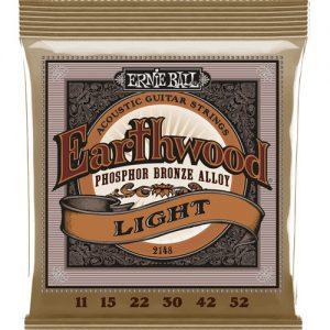 Ernie Ball 2148 Earthwood Phosphor Bronze Acoustic Light 11-52