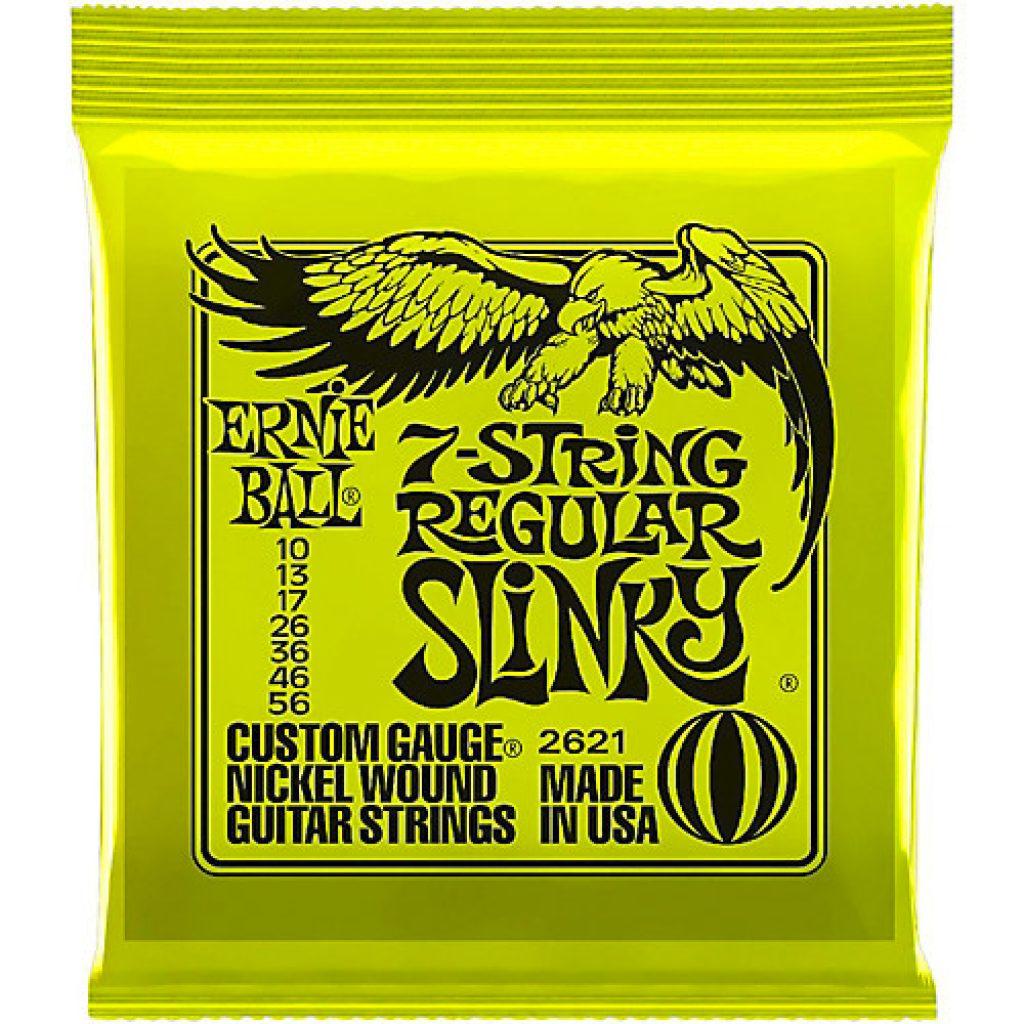 Ernie Ball 2621 Regular Slinky 10-56 (7-string)