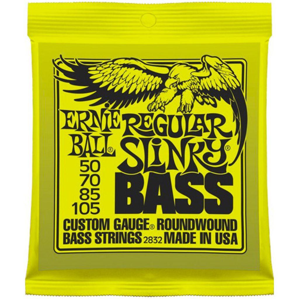 Ernie Ball 2832 Nickel Wound Bass Regular Slinky 50-105