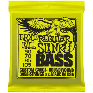 Ernie Ball 2832 Nickel Wound Bass Regular Slinky 50-105