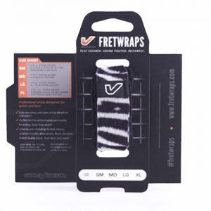 Gruv Gear Fretwraps Wild Zebra String Muter 1-Pack (Large)