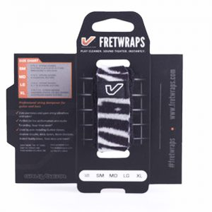 Gruv Gear Fretwraps Wild Zebra String Muter 1-Pack (Medium)