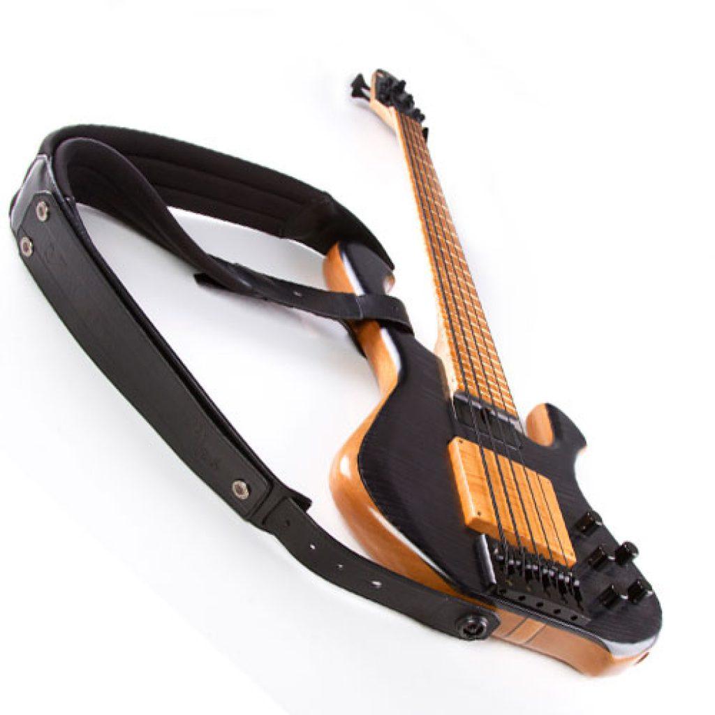 Gruv Gear DuoStrap Neo Double Guitar/Bass Strap (Black)