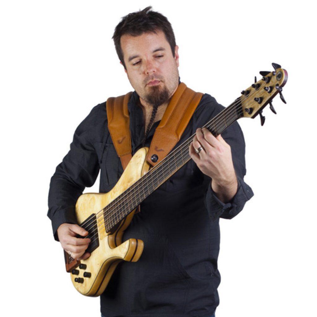 Gruv Gear DuoStrap 'Damian Erskine' Signature Double Guitar Strap (Black)
