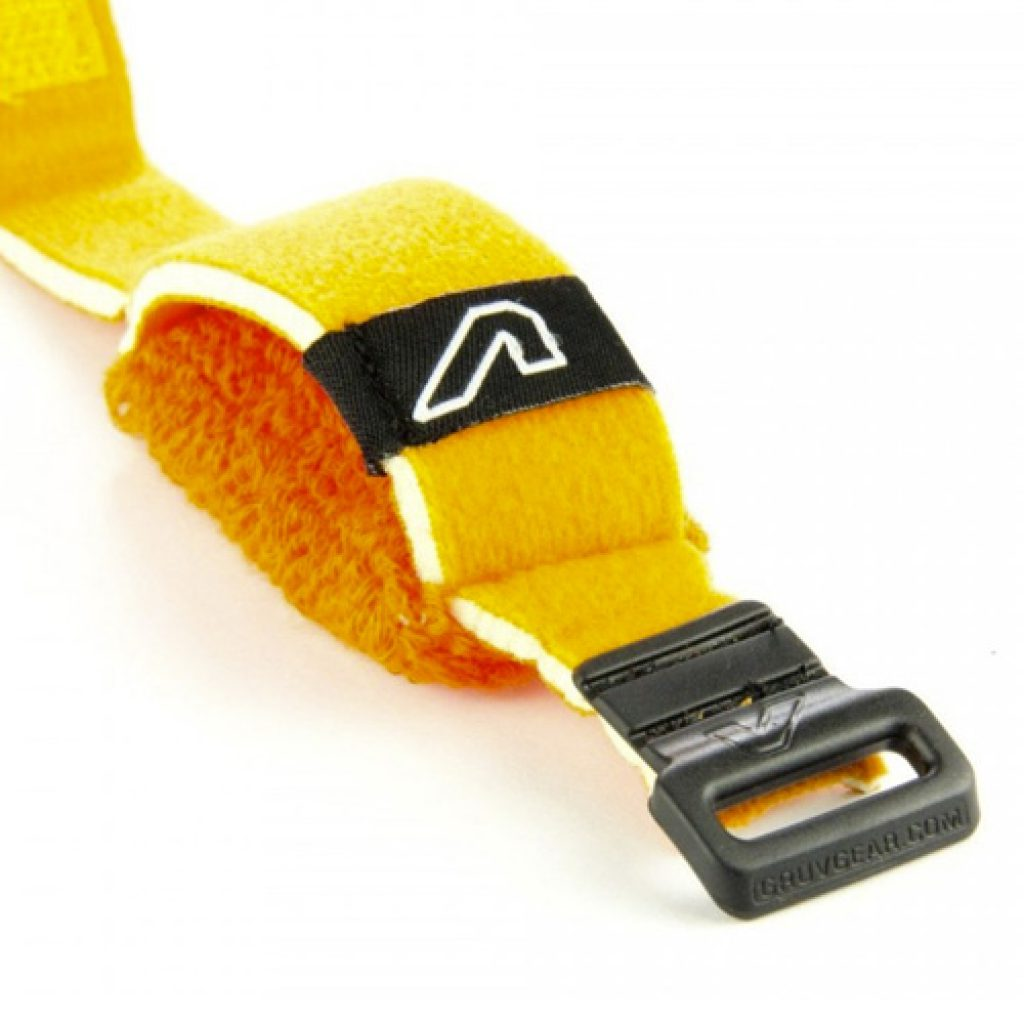 Gruv Gear Fretwraps Hd Flare String Muters 1-Pack (Orange, Small)