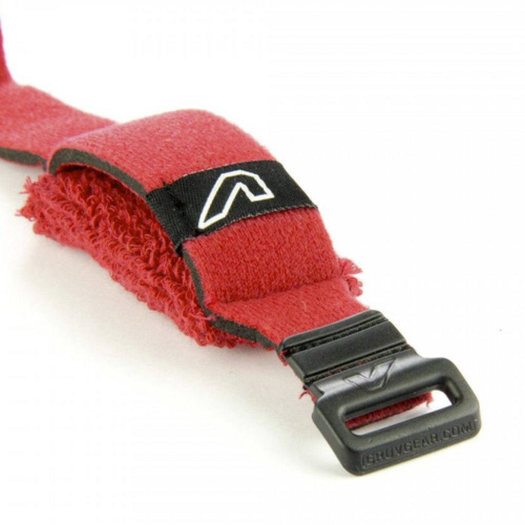 Gruv Gear Fretwraps Hd Fire String Muter 1-Pack (Red, Small)