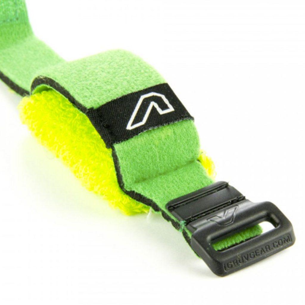 Gruv Gear Fretwraps Hd Leaf String Muter 1-Pack (Green, Small)