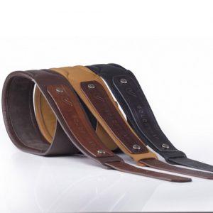 Gruv Gear SoloStrap Premium Leather Guitar/Bass Strap (Black)