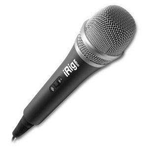 IK iRig Mic Micrófono Condensador Smartphone