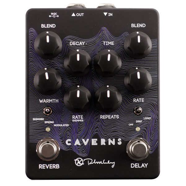 Keeley Electronics Caverns Delay Reverb V2 Limited Edition