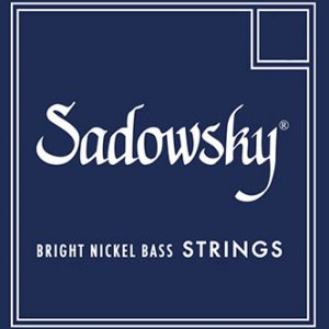 Sadowsky SBN45B Blue Bright Nickel Bass Standard 45-130