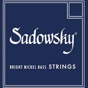 Sadowsky SBN45 Blue Bright Nickel Bass Standard 45-105