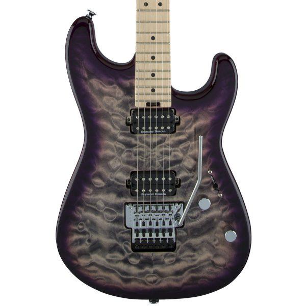 Charvel Pro-Mod San Dimas® Style 1 HH FR M QM, Purple Phaze